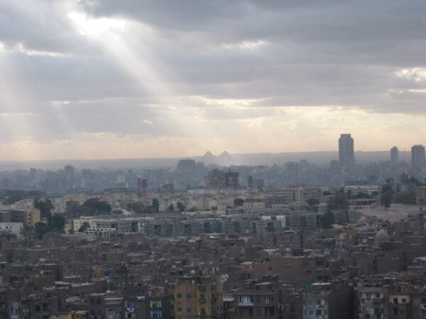 Panorama del Cairo