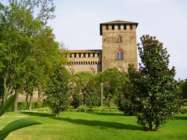castello visconteo pavia